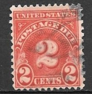 1931 2 Cents Postage Due, Used - Postage Due