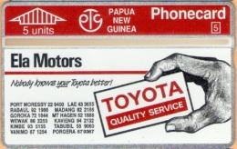 Papua New Guinea - PNG-20, Toyota Ph 57 9367, CN:211B, 10.000ex, 7/92, Mint As Scan