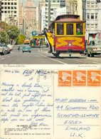 Cable Car, San Francisco, California, United States US Postcard Posted 1978 Stamp - San Francisco