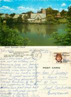 Trinity Episcopal Church, Seneca Falls, New York, United States US Postcard Posted 1981 Stamp - NY - New York