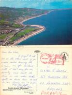 Aerial View, Malibu Beach, California, United States US Postcard Posted 1979 Meter - Los Angeles