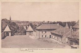 57----VERNEVILLE---et Cour Du Château---( Préventorium )---voir 2 Scans - Otros Municipios