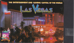 The Entertainment And Gaming Capital Of The World Casino Las Vegas Nevada United States Grote Kaart Grand Format - Las Vegas