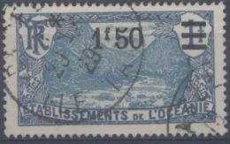 France, Océanie : N° 64 Oblitéré Année 1924 Belle Oblitération - Ozeanien (1892-1958)