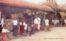 Sri Lanka - Native Boutique Or Shop, Ceylon - Sri Lanka (Ceylon)