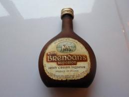 MIGNONNETTES SAINT BRENDAN S  IRISH CREAM LIQUEUR   *****    A    SAISIR  **** - Miniatures