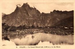 LA REUNION  CILAOS LE GRAND BENARD VU DES MARES - La Réunion
