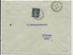 TURQUIE-1920- ENVELOPPE BANQUE IMPERIALE OTTOMANE CACHET MILITAIRE FRANCAIS N°506 à CONSTANTINOPLE => LIDKOPING (SUEDE) - Covers & Documents