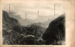 LA REUNION LES MONTAGNES DE CILAOS VUE PRISE DU GRAND SERRE - La Réunion