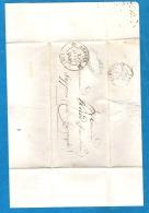 Une Enveloppe Oblitérée De 1848, D' Arbois à Sappois Près Champagnole - 1801-1848: Precursors XIX