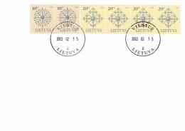 Litauen, 2003, 717/18 III, Denkmalsspitzen. FDC - Lituania