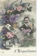 Amities D'ERQUELINNES - Cachet De La Poste 1912 - Erquelinnes