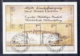 FÄRÖER - Michel - 1986 - BL 2 - Gest/Obl/Us - Färöer Inseln