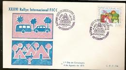 Portugal & FDC XXXVI International Rally FICC, Caravanning, Funchal 1975 (1255) - Ferien & Tourismus