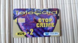 Phonecard Namibia Used