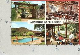 CARTOLINA VG KENYA - SAMBURU GAME LODGE - Vedutine - 10 X 15 - ANN. 1974 - Kenia