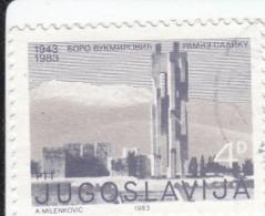 Jugoslavia 1983 -   Yt 1866 Used - 1945-1992 Socialist Federal Republic Of Yugoslavia