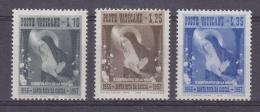 Vatican City 1956 Santa Rita 3v ** Mnh (33364) - Vaticaanstad
