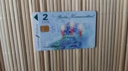 Phonecard Letland  Used