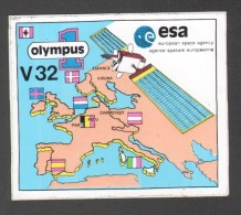 AUTOCOLLANT OLYMPUS V32 - Autocollants