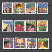 #  France / Adhesif / N° 1190 à 1201 Oblitéré / Bonne Année / 2015 / Lot N° 140 / Serie - Oblitérés