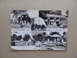 80 SAILLY - LAURETTE Hôtel Restaurant Chez ERNEST Ecluse Batellerie Marinier Péniche Bief Canal - Autres Communes