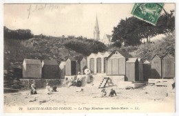 44 - SAINTE-MARIE-DE-PORNIC - La Plage Mombeau Vers Sainte-Marie - LL 70 - 1910 - Pornic