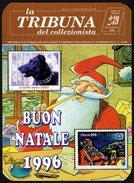ITALIA 1995 - CALENDARIO TASCABILE - LA TRIBUNA DEL COLLEZIONISTA - BUON NATALE 1996 - Calendari