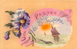 ¤¤   -     SAINTE-PAZANNE  -   Une Pensée De ...........   -  Fleurs    -  ¤¤ - Sin Clasificación