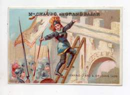 Chromo - Maison Chauré, Au Grand Bazar - Jeanne D'Arc à Orléans (1429) - Otros