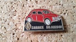 1 Pins Voiture Renault  Garage Dujardin - Transport Und Verkehr