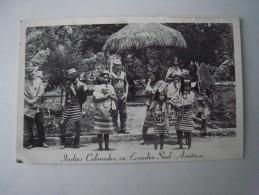 1 Cpa - Ecuador - Indios Colorados (2 Scans) - Equateur