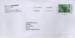 PAP Entier Postal Arbre : OTE Ingénierie ILLKIRCH (Bas-Rhin) - PAP: Sonstige (1995-...)