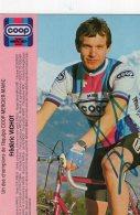 4833 CP  Cyclisme  Frédéric Vichot    Dédicacée - Cyclisme