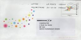 PAP Entier Postal La Poste : Illustration Multicolore - PAP: Sonstige (1995-...)