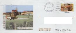 PAP Entier Postal GUIGNOL : Cachet Thône Eglise Mourguet Café Du Soleil - PAP: Sonstige (1995-...)