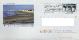 PAP Entier Postal CABINE BAIN : Cachet BERCK SUR MER Cerf-volant La Côte D´Opale Ambleteuse - PAP: Sonstige (1995-...)