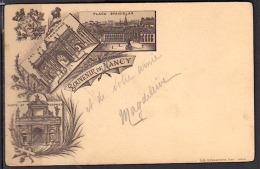 NANCY 1903 CPA PRECURSEUR SOUVENIR DE NANCY PHOTOS R/V - Nancy