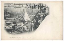 44 - LE CROISIC - Le Débarquement De La Sardine - Thuret - Précurseur - Le Croisic