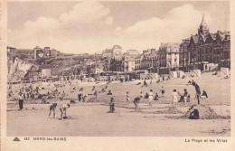 CPA - 80 - MERS LES BAINS - La Plage Et Les Villas - 142 - Mers Les Bains