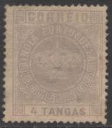 Portuguese India – 1882 Crown Type 4 T. - India Portoghese