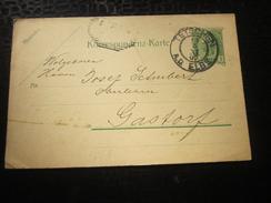 1907 TETSCHEN Theresienau Bei Testschen A-Elbe Im Norden Der Tschechisch Entiers Postaux Carte Postale Lettre Tchecoslov - Postal Stationery