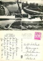 Quatre Barrages, Gileppe, Belgium RP Postcard Posted 1968 Stamp - Jalhay