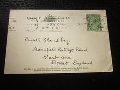 1927 Timbre Stamp  Océanie  Australie Australia  Entiers Postaux  Carte Postale Lettre  Document -- England - Postal Stationery