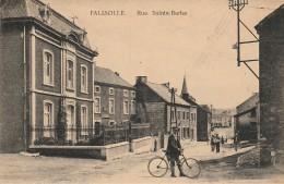 Sambreville Falisolle Rue Sainte Barbe ( Poste Et Cycliste ) - Sambreville