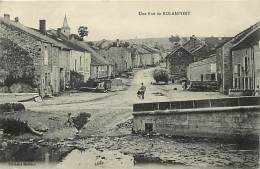 -ref-N48-  Haute Marne - Rolampont - Une Rue - Carte Bon Etat - - Other Municipalities