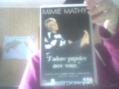 Cassette VHS De Mimie Mathy - J' Adore Papoter Avec Vous- - Classiques