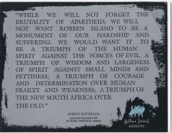 Robben Island Museum Cape Town - Ahmed Kathrada - Musei