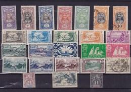 OCEANIE  : Y & T :lot De 25 Timbres Oblitérés Et * - Oceanië (1892-1958)