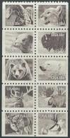 US 1981   Sc#1889a  Wildlife Booklet Pane  MNH**  2016 Scott Value $6.50 - Etats-Unis